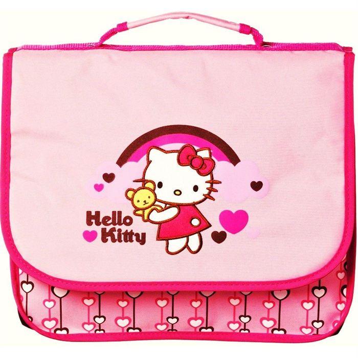 Cartable Sac à Dos Hello Kitty
